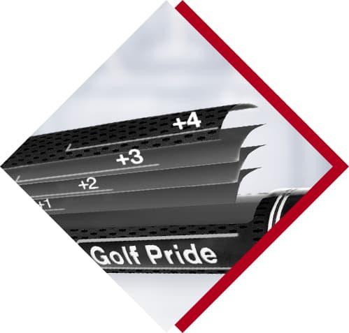 Black golf pride grip