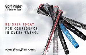 Golf pride grips